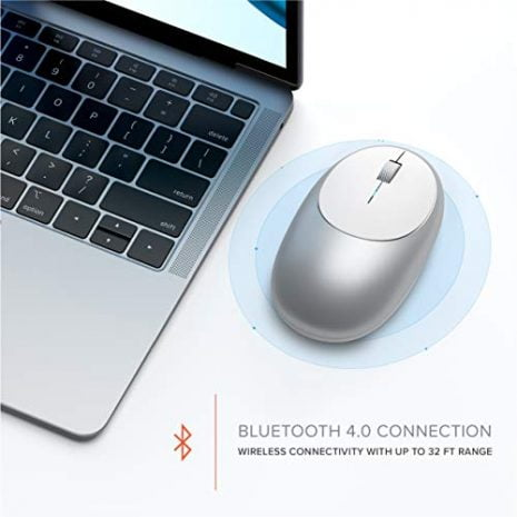 Satechi Aluminum M1 Bluetooth Wireless Mouse with ...